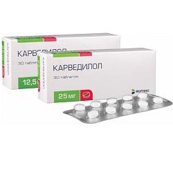 Carvedilol Tabletten