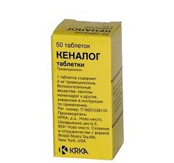 Kenalog in Tabletten