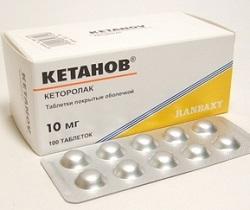 Ketane in Tabletten