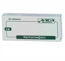 Ketotifen Tabletten