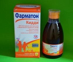 Kiddi Pharmaton-Sirup