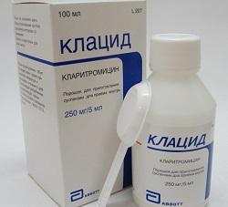 Antibiotisches Klazid