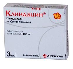 Suppositorien Clindacin