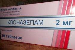Clonazepam Tabletten