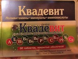 Vitamine Quadevit