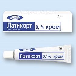 0,1% Creme Latikort
