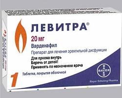 Levitra Tabletten 20 mg