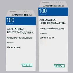 Levodopa / Benserazid-Teva Tabletten