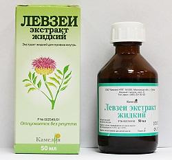 Leuzea Extraktflüssigkeit