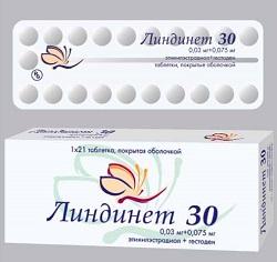 Tabletten Lindinet 30