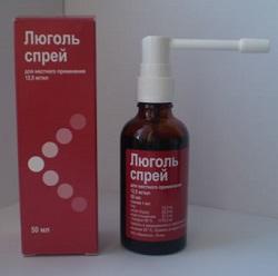 Spray Lugol