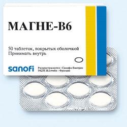 Pillen Magne B6