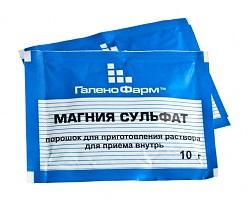 Magnesium-Sulfat-Pulver
