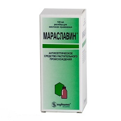 Lösung für die topische Anwendung Maraslavin