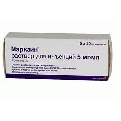 Marcain-Lösung