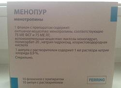 Menopur Lyophilisat