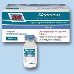Antibiotische Meronem