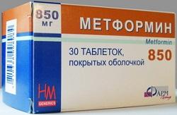Metformin Tabletten 850 mg