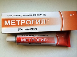 Gel zur äußerlichen Anwendung Metrogil