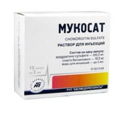 Mucosat Injektionslösung
