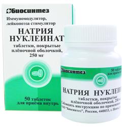 Natrium-Nucleinat-Tabletten