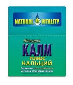 Natürliches ruhiges Magnesium + Kalzium