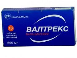 Valtrex Tabletten 500 mg