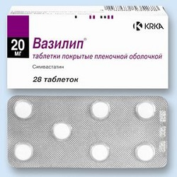 Vasilip Tabletten 20 mg