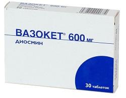 Vazoket 600 mg Tabletten