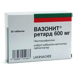 Vazonit Tabletten 600 mg