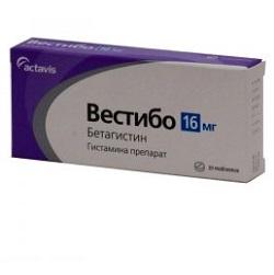 Tabletten Vestibo 16 mg