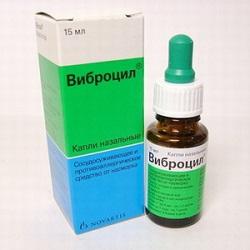 Nasale Tropfen Vibrocil