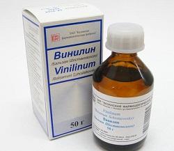 Antimikrobielles Mittel Vinilin