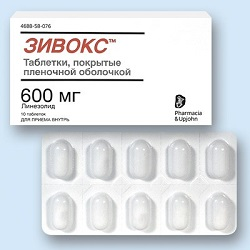 Zyvox Tabletten 600 mg