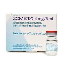 Konzentriere Zometa 4 mg / 5 ml